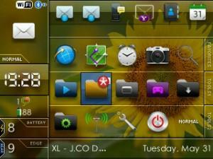Free Download Tema Blackberry Gemini 8520